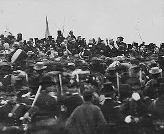 Gettysburg Address speech by U.S. President Abraham Lincoln