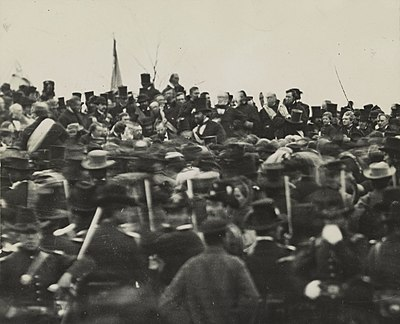 picture relating to Gettysburg Address Printable named Gettysburg Cover - Wikipedia