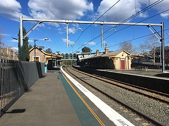 Lindfield railway station - Station in August 2018
