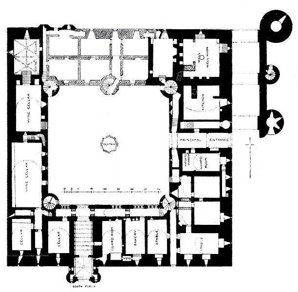 Westgate Palace Floor Plans: File:Linlithgow Palace Floor Plan Ground Floor.jpg