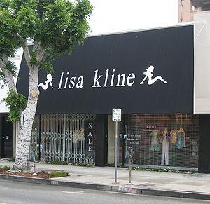 Lisa Kline store on Robertson Boulevard in Los...