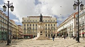 Lisbon 10064 Lisboa Praça Luís de Camões 2006 Luca Galuzzi (cropped).jpg