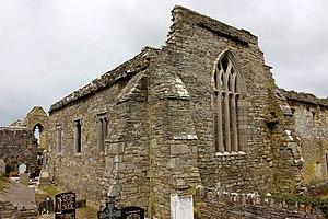 Lislaughtin Abbey - Ruins of the abbey church