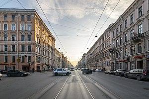 Liteyny Avenue - Liteyny Avenue in St. Petersburg