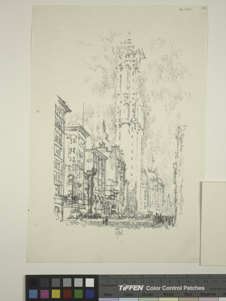 File:Lithographs of New York in 1904. The Times building (NYPL Hades-1804239-1659508).tiff