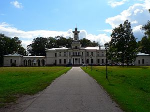 Biržai - Tyszkiewicz Palace in Astravas suburb