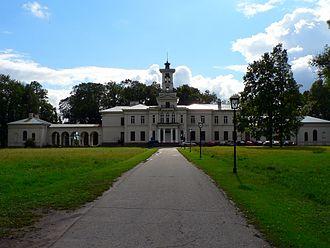 House of Tyszkiewicz - Image: Lithuania Birże Tyszkiewicz Palace