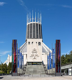 Liverpool Metropolitan Cathedral - Image: Liverpool Metropolitan Cathedral Exterior, Liverpool, UK Diliff
