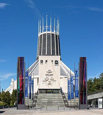 Liverpool Metropolitan Cathedral - Image: Liverpool Metropolitan Cathedral Exterior, Liverpool, UK Diliff