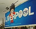 Liverpool boat advertising, Belfast - geograph.org.uk - 1558942.jpg