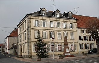 Lixheim - The town hall in Lixheim