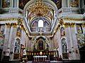 Ljubljana Kathedrale St. Nikolaus Innen Chor 1.JPG