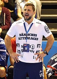 Ljubomir Vranjes Swedish handball player
