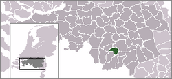 Location of Veldhoven