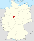 Locator map HOL in Germany.svg