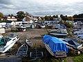 Loch Lomond Marina - boatyard near Balloch Bridge - geograph.org.uk - 1660642.jpg