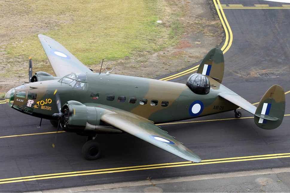 Lockheed Hudson III Point Cook Vabre