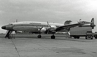 Lockheed L-1049 Super Constellation Stretched version of Constellation