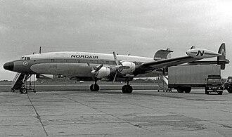 Lockheed L-1049 Super Constellation - Nordair L-1049H