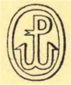 Logo - Wydawnictwo Polskie - Polowanie na potwory morskie - 1927.png