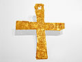 Lombard gold foil cross from Leno, Italy (2).jpg