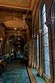 London - Cromwell Road - Natural History Museum 1881 by Alfred Waterhouse - View South through Side Corridor of the Central Hall on the 1st Floor I.jpg