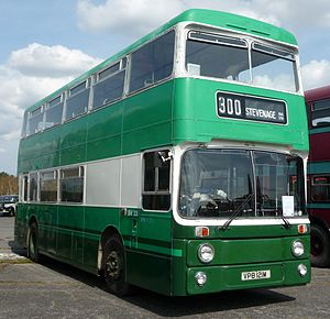 London Country North East - Preserved Park Royal bodied Leyland Atlantean in London Country North East livery