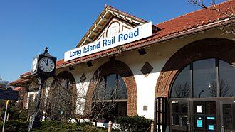 Long Beach Branch - The Long Beach Train Station