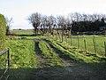 Looking E across farmland from Durlock Road - geograph.org.uk - 628117.jpg