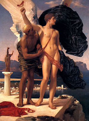 Hellenic Air Force Academy - Icarus and Daedalus by Frederic Leighton