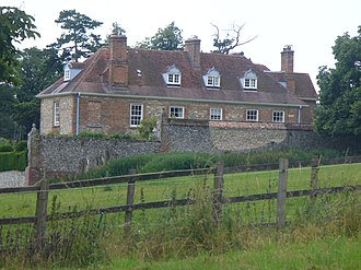 Geoffrey Hornby - Lordington House, Hornby's home in West Sussex
