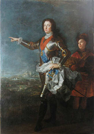 Louis, Duke of Orléans (1703–1752) - Image: Louis d'Orléans by Alexis Simon Belle, held at Rastatt