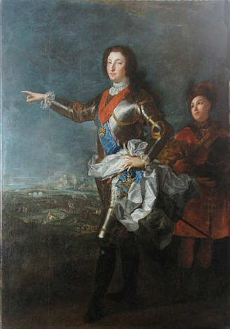 Louis, Duke of Orléans (1703–1752) - Portrait by Alexis Simon Belle, 1724