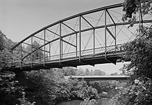 Lover's Leap Lenticular Bridge, Spanning Housatonic River on Pumpkin Hill Road, New Milford (Litchfield County, Connecticut).jpg