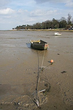 Low tide at Manningtree - geograph.org.uk - 748600