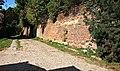 Lublin, Cmentarz żydowski (tzw. Grodzisko); mur od strony ul. Siennej I.jpg