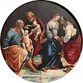 Luca Signorelli - Holy Family with Zacharias, Elisabeth and little John - Gemäldegalerie Berlin.jpg