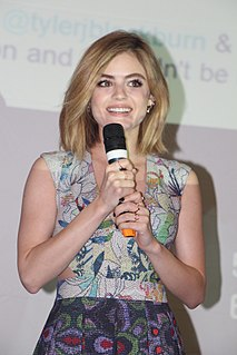 Lucy Hale American actress and singer (born 1989)