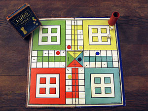 Ludo (board game) - An original Ludo board