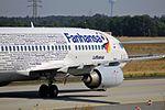 """Lufthansa Boeing 737-330 D-ABEK """"Fanhansa"""" (29890507950).jpg"""