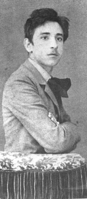 Luigi Pirandello - Pirandello in 1884.