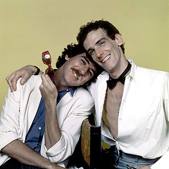 Luis Alberto Spinetta - Spinetta and Charly García in 1984.