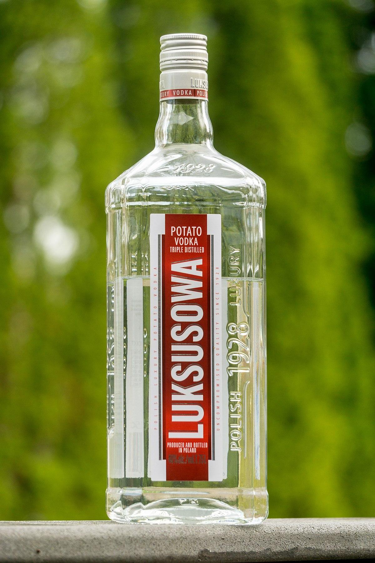 all types of vodka brands