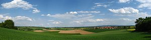 Middle Hesse - The Lumda Plateau – view of Bernsfeld