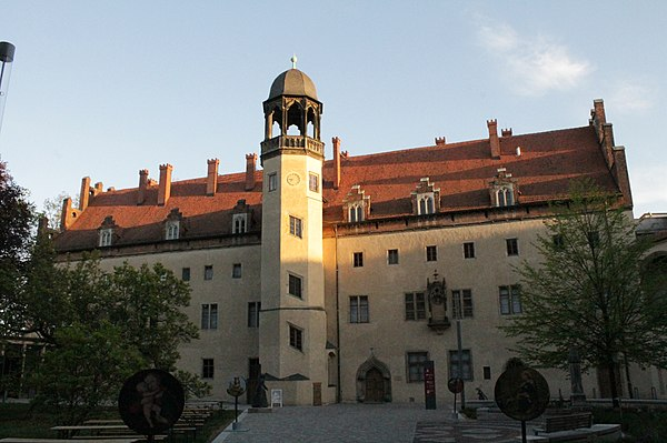 Luther's accommodation in Wittenberg Lutherhaus, Wittenberg.jpg
