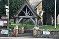 Lych gate, St Martin's Church - geograph.org.uk - 1735516.jpg