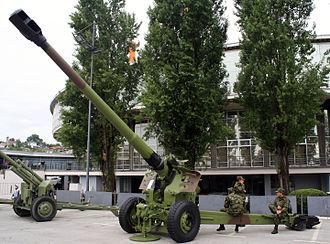 Gun-howitzer M84 NORA - Image: M84 Nora A