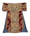 MCC-39546 Rode dalmatiek met aanbidding der koningen, besnijdenis en opdracht in de tempel en heiligen (1).tif