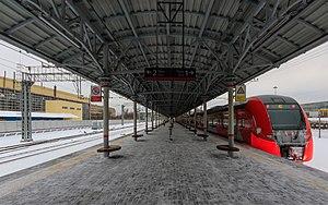 Ugreshskaya (Moscow Central Circle) - Image: MCC 01 2017 img 01 Ugreshskaya station
