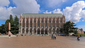 Suzzallo Library - Image: MK03214 University of Washington Suzzallo Library